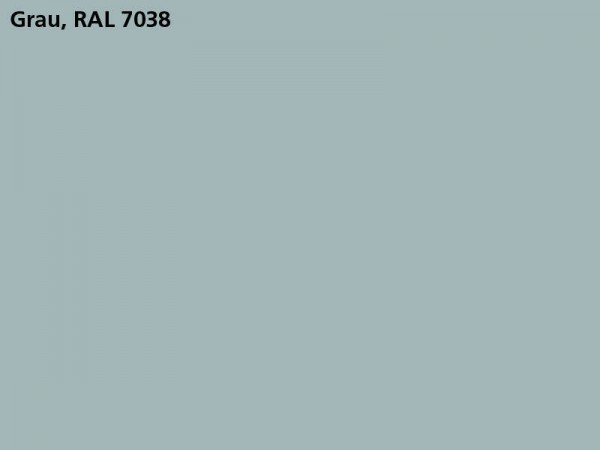 Plane & Spriegel, LH 1800 mm, Farbe grau, für Mittelrungen