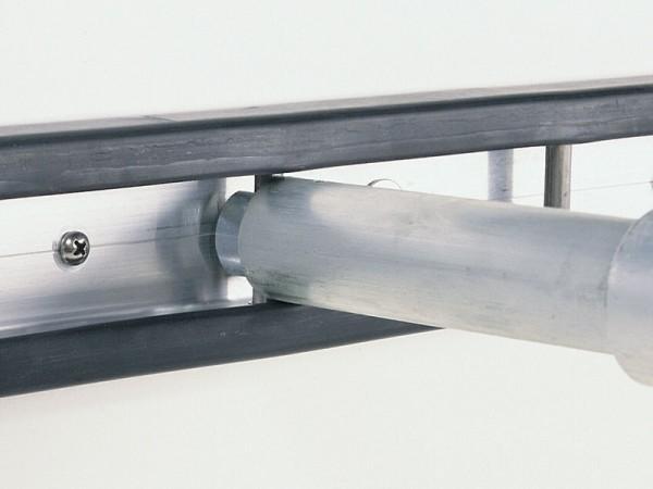 Stäbchenzurrschiene für Plywood 15 mm, je lfd. Meter