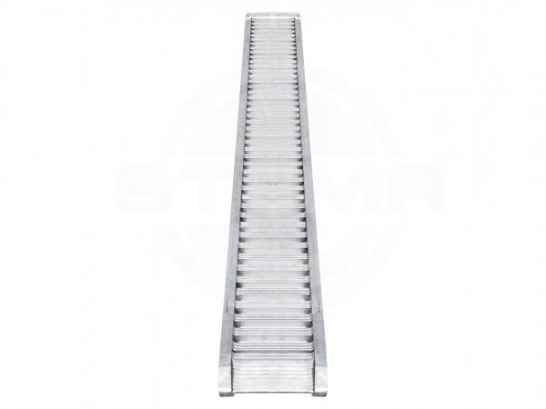 ALU-Auffahrrampen Set (1 Paar) inkl. Gleitschiene L=290 cm, 1100 kg belastbar pro Paar