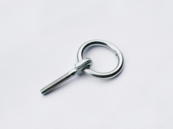 4 Klappringe, Die Ringe dürfen nur über den Querträgern montiert werden