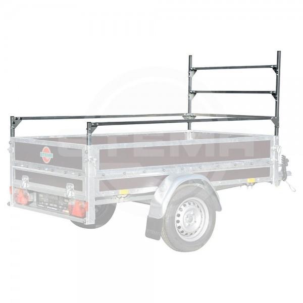 Leitergestell + Reling 3 seitig, Höhe 75 cm