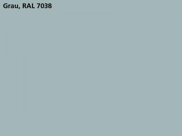 Plane & Spriegel, LH 2000 mm, Farbe grau, für Mittelrungen