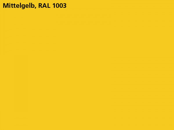 Plane & Spriegel, LH 2000 mm, Farbe mittelgelb