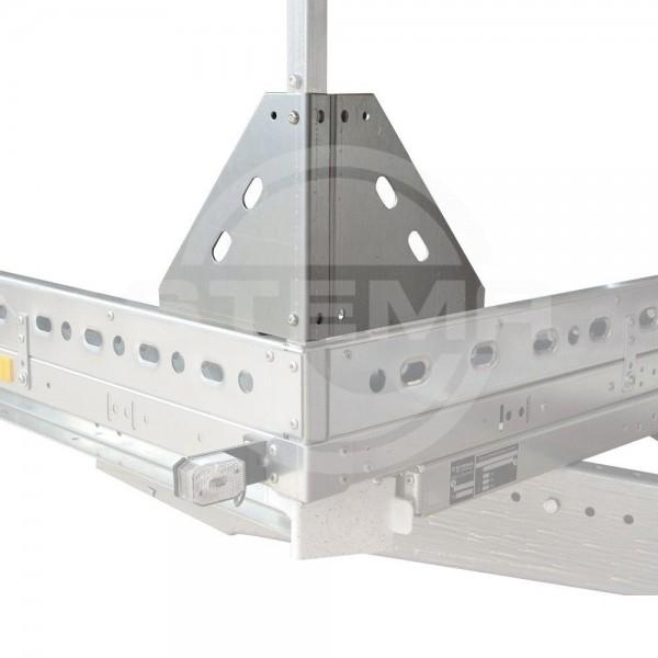 Adapterset Reling – Hochspriegel, Höhe 25 cm