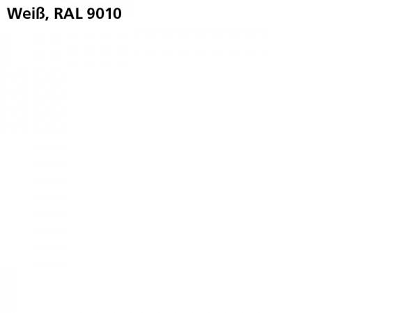 Plane & Spriegel HT..31 mit Stahlbordwänden, LH 1600 mm, Farbe weiß