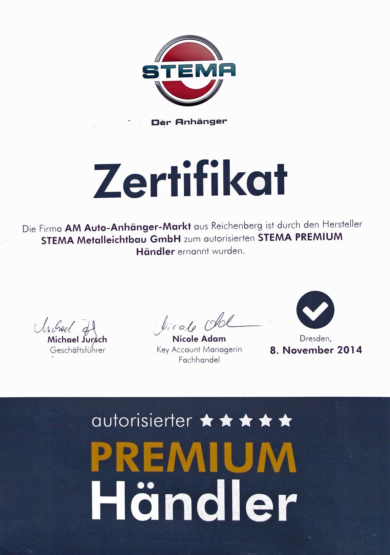 STEMA_Zertifikat