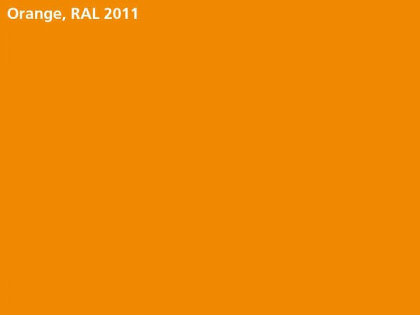Plane & Spriegel HTK..27 mit Stahlbordwänden, LH 1600 mm, Farbe orange