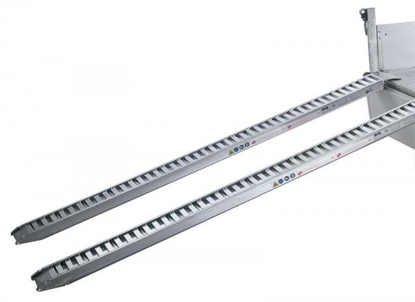 Aluminium-Bohlen 2,3 t Tragkraft, Länge 2230 mm (unter der Ladefläche)
