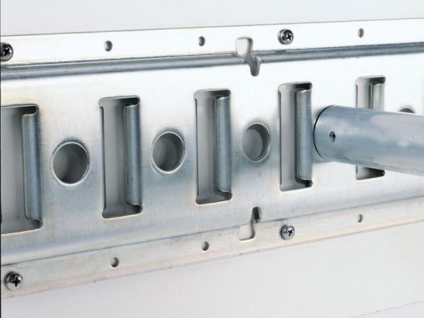 Schlitzankerschiene für Plywood 15 mm, je lfd. Meter
