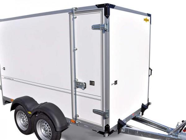 Seitentür 1650x600 mm, mit Drehstangenverschluss, links oder rechts möglich, immer vorne angeschlagen