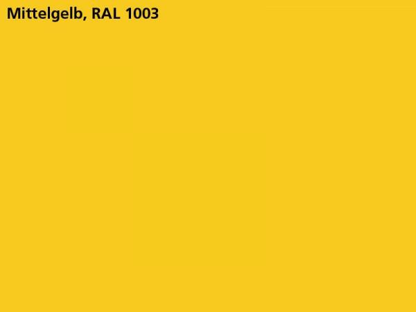 Plane & Spriegel, LH 2000 mm, Farbe gelb, für Mittelrungen